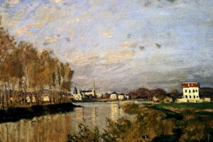 The Seine at Argenteuil, by Claude Monet, 1873